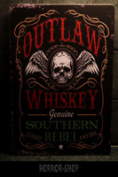 Outlaw whiskey -sign