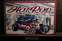 Hot Rod Flames -sign