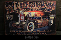 Americas Highway -sign