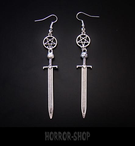 Sword of Satan earrings