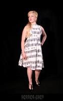 White Note dress