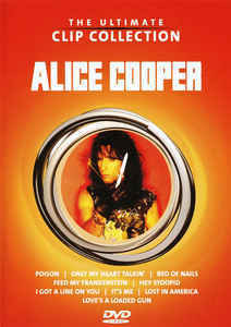 Alice Cooper – The Ultimate Clip Collection (DVD, used)