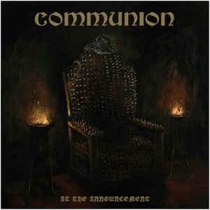 Communion – At The Announcement (CD, uusi)