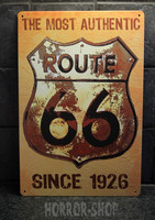 Route 66 most authentic -sign