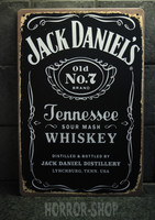 Jack Danie's Tennessee Whiskey -sign