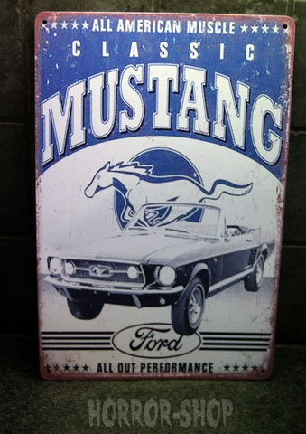 Classic Mustang -sign
