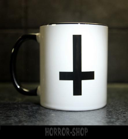 Inverted cross -mug