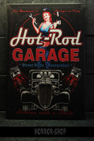 Hot Rod Garage -sign