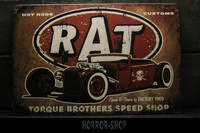 RAT Hot Rodd -sign