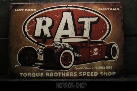 RAT Hot Rodd -sign