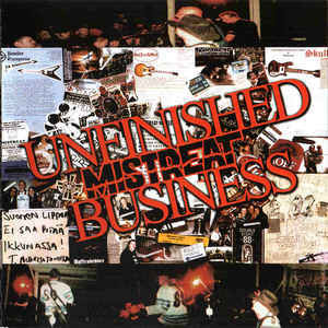 Mistreat ‎– Unfinished Business (CD, uusi)