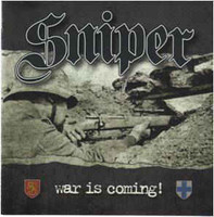 Sniper ‎– War Is Coming (CD, new)
