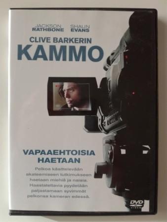 Clive Barkerin Kammo (DVD, used9
