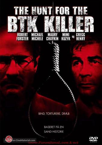 The Hunt For The BTK Killer (DVD, used)