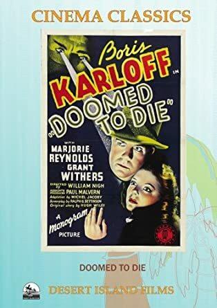 Doomed To Die (DVD, used)
