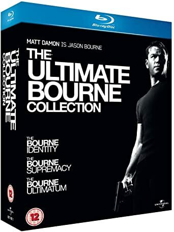 The Ultimate Bourne Collection (Blu-ray, used)