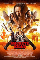 Machete Kills (Blu-ray, käytetty)
