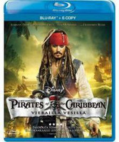 Pirates of the Caribian; Vierailla Vesillä (Blu-ray, used)