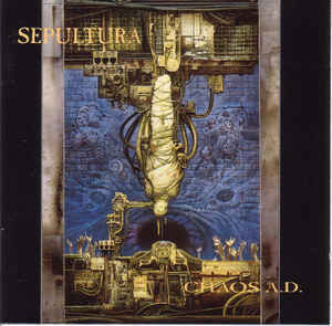 Sepultura – Chaos A.D. (CD, used)