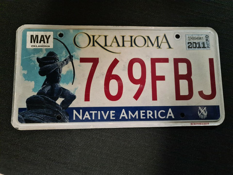 Oklahoma 769FBJ