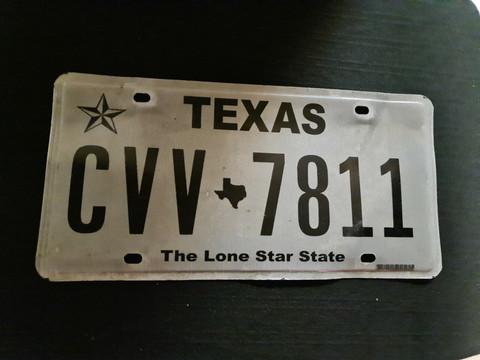 Texas CVV 7811