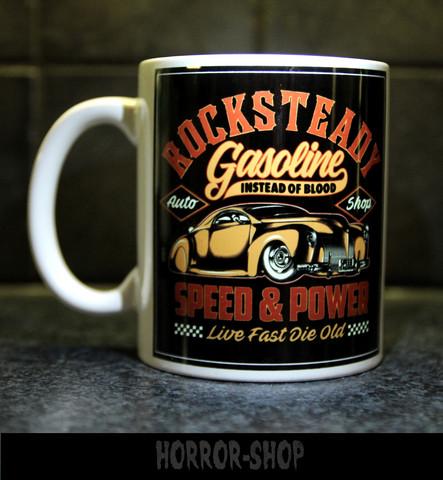 Gasoline instead of blood (mug)