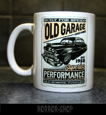 Old garage (mug)