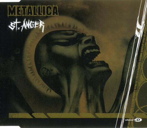 Metallica ‎– St. Anger (CD, Maxi-Single, käytetty)