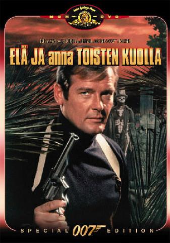 007 Elä ja anna toisten kuolla  (DVD)