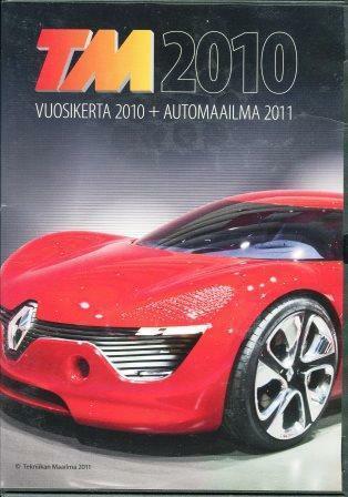 TM 2010 vuosikerta 2010 + Automaailma 2011 (DVD)