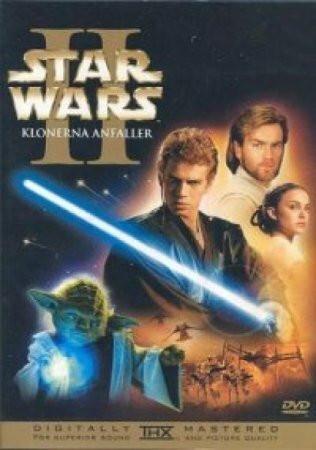 Tähtien sota: Episodi II – Kloonien hyökkäys (DVD)