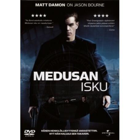 Medusan isku (DVD)