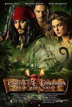 Pirates of the Caribbean: Kuolleen miehen kirstu (DVD)