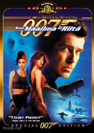 007 Kun maailma ei riitä (DVD)