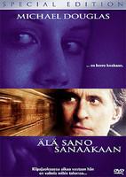 Älä sano sanaakaan (DVD)
