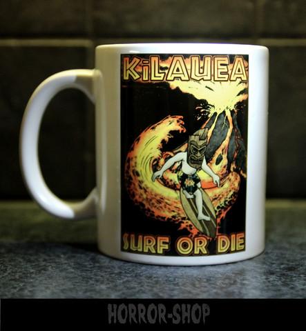 Surf or die (mug)