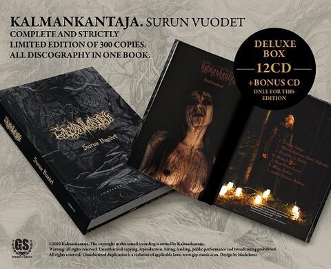 Kalmankntaja - Surun Vuodet (13 × CD, Compilation, Deluxe Edition, Limited Edition, Numbered)
