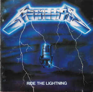 Metallica ‎– Ride The Lightning (CD, used)