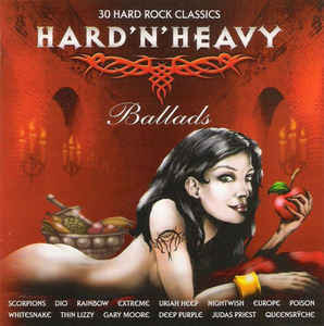 Various – Hard'N'Heavy Ballads (CD,  used)