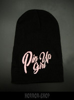 Pin up girl beanie