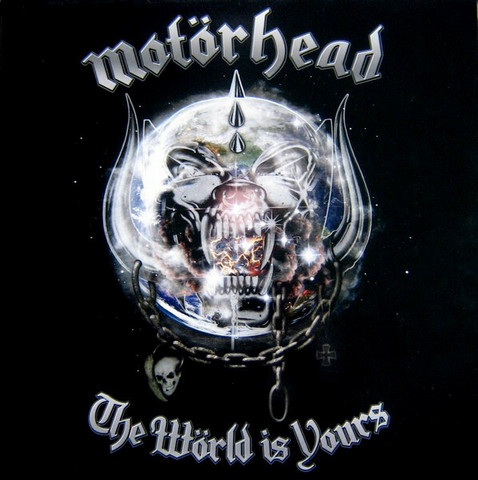Motörhead ‎– The Wörld Is Yours (CD, used)