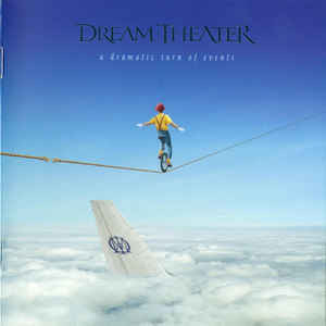 Dream Theater ‎– A Dramatic Turn Of Events (CD, used)