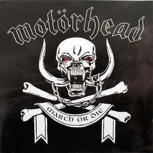 Motörhead ‎– March Ör Die (CD, used)