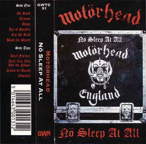 Motörhead ‎– Nö Sleep At All (CD, used)