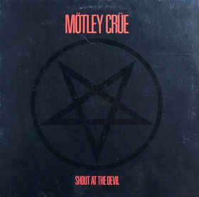 Mötley Crüe ‎– Shout At The Devil (CD, used)