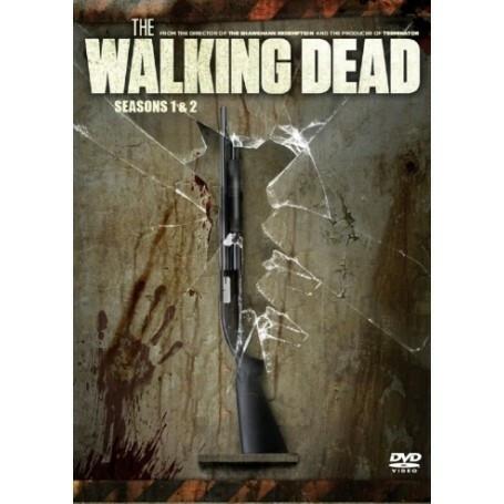 THE WALKING DEAD - KAUSI 1 & 2 BOX (DVD, used)