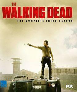 THE WALKING DEAD - KAUSI 3 (DVD, used)