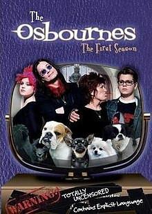The Osbournes (season 1) (DVD, used)