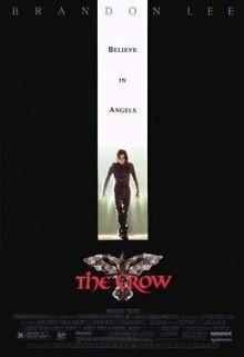 The Crow (DVD, used, swe txt)