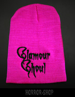 Glamour Ghoul, neon pink beanie